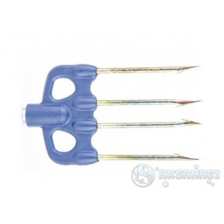 Четырехзубец САРГАН 003, пластиковое основание, зубцы D 3,5мм, легкий