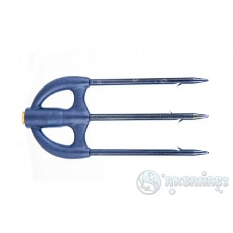 Трезубец САРГАН 009, пластиковое основание, зубцы черные, D 5мм