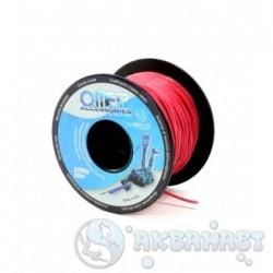 Линь Omer Dyneema, нагрузка 320 кг, красный 1,5мм