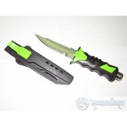 GRANDWAY Нож SS01 (черно-зеленый)