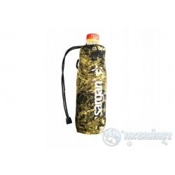 Чехол SARGAN под бутылку 0.5-0.6 л, камуфлированный неопрен RD2.0 5мм, на затяжке
