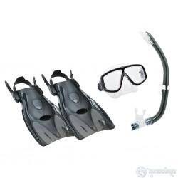 Комплект маска+трубка+ласты 2614 Tusa