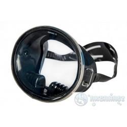 Маска PROBLUE Маска классическая для плавания, круглое стекло, черный силикон