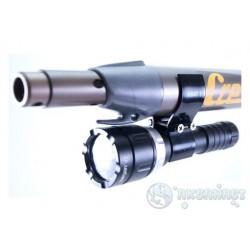 Крепление SARGAN для фонарей Хват 1 к пневматическим ружьям