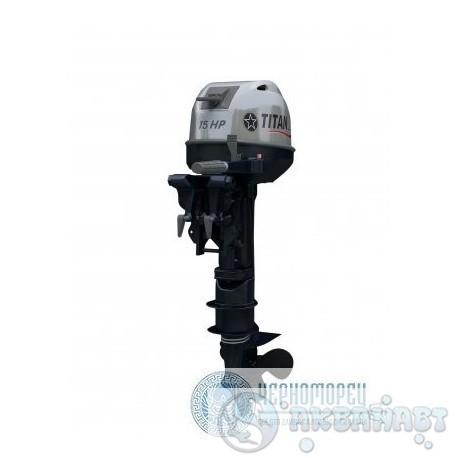 Мотор 2-х тактный Titan TP 9.9 AMHS/AMHL        Мотор 2-х тактный Titan TP 15 AMHS/AMHL