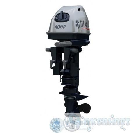 Мотор 2-х тактный Titan TP 40 AMHS/AMHL        Мотор 2-х тактный Titan TP 40 AWRS/AWRL