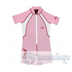 Гидрокостюм CRESSI детский Baby Shorty, 2 мм, розовый, S (1-2 года)
