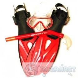 Комплект AQUATICS Комплект Pirate детский, маска+трубка+ласты, р.M/L