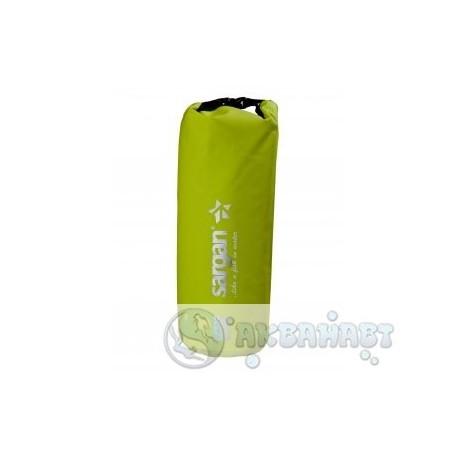 Гермомешок SARGAN  ТУРИСТ желто-зеленый 10л
