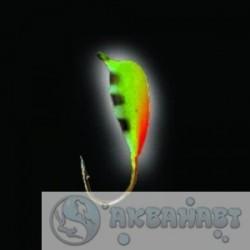 Мормышка вольф. Lucky John НИМФА с петел. и люминофор. 040/Bi