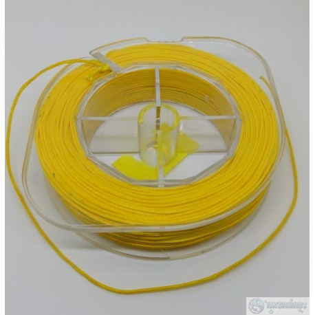 Линь SUBVENATOR Линь Dyneema желтая 1,3 мм 90кг