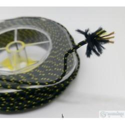 Линь SUBVENATOR Линь Кевлар черно-желтый 2.0 мм 110кг