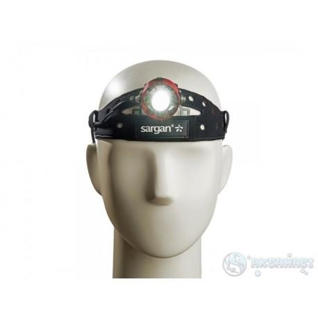 Фонарь налобный светодиодный Sargan Бластер 700 люмен с блоком на 2 аккумулятора